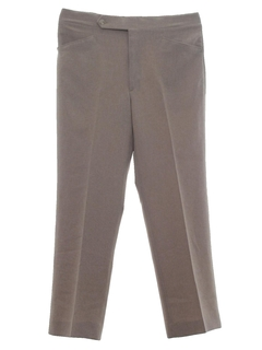 1970's Mens Mod Sharkskin Leisure Pants