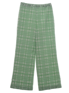 1970's Womens Flared Leisure Pants