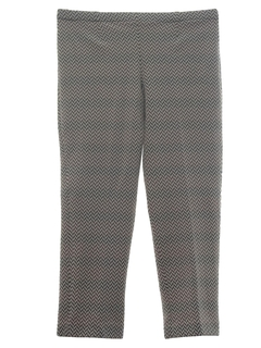 1960's Womens Knit Leisure Pants