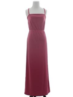 1970's Womens Maxi Sun Dress