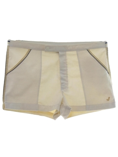 1980's Mens Mod Tennis Shorts