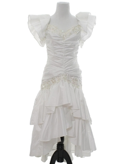 1980's Womens Prom, Cocktail or Wedding Dress