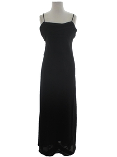 1990's Womens Wicked 90s Prom Or Cocktail Maxi Dress