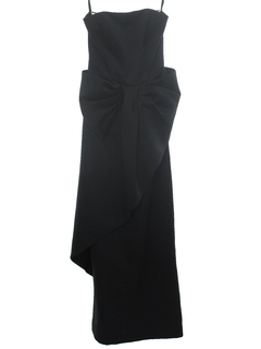 1980's Womens Prom Or Cocktail Maxi Dress