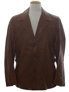 1960's Mens Leather Jacket
