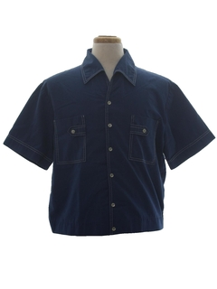 1960's Mens Sport Shirt Jac