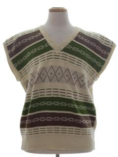 1980's Unisex Sweater Vest