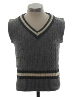 1970's Unisex Childs Sweater Vest