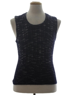 1980's Mens/Boys Sweater Vest