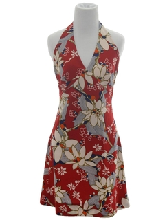 1970's Womens Mini Dress