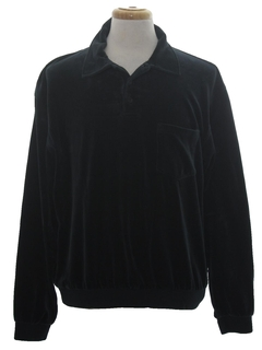 1980's Mens Velour Shirt