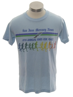 1980's Unisex Totally 80s Sport/Running T-shirt