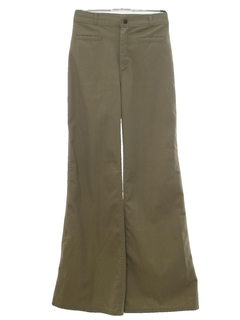 1970's Unisex Hippie Bellbottom Pants