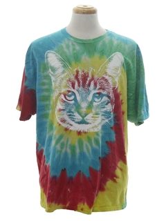 1990's Unisex Tie Die Animal T-Shirt