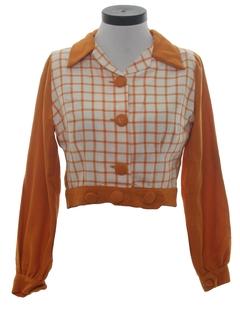 1970's Womens Mod Shirt Jac