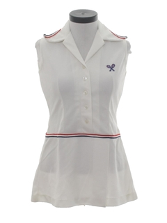 1970's Womens Tennis Dress