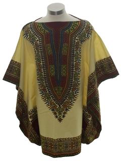 1970's Unisex Dashiki Style Shirt
