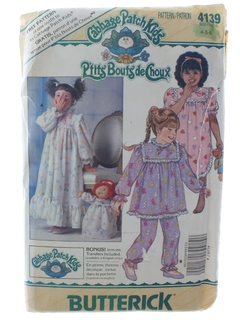 1980's Womens/ChildsPattern