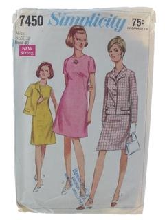 1970's Womens DressPattern