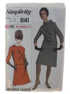 1960's Womens DesignerPattern