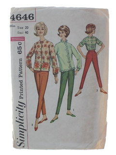 1960's WomensPattern