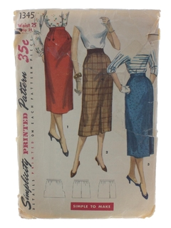 1950's WomensPattern