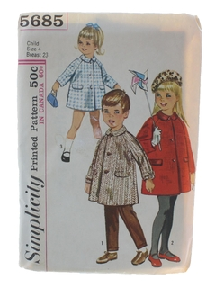 1960's Unisex/ChildsPattern