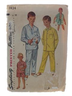 1960's Mens/BoysPattern