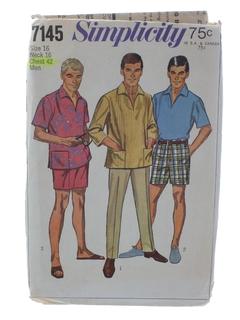 1960's MensPattern