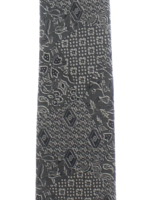 1960's Mens Skinny Rockabilly Style Necktie