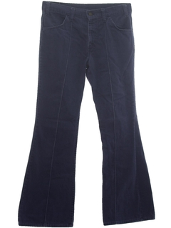 1970's Womens Flare Leg Jeans Pants