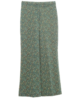 1960's Womens Hippie Bellbottom Pants