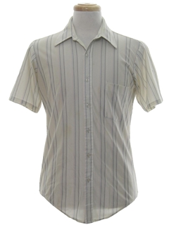 1970's Mens Stiriped Shirt