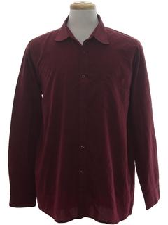 1990's Mens Designer Armani Sport Shirt