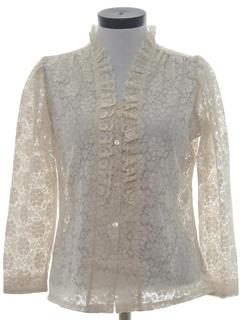 1970's Womens Dressy Shirt