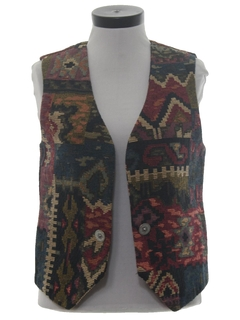 1980's Womens Equestrian Style Vest