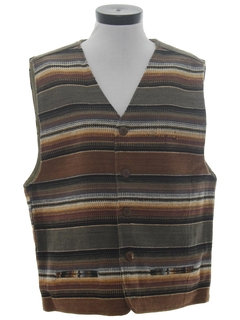 1980's Womens Hippie Style Vest