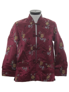 1980's Womens Reversible Asian Style Jacket