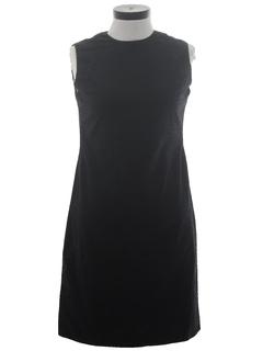 1960's Womens Wiggle Dress