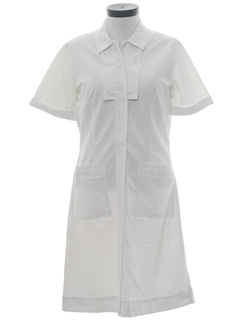 1960's Womens Mod Nurse Dress