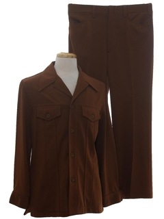 1970's Mens Leisure Suit