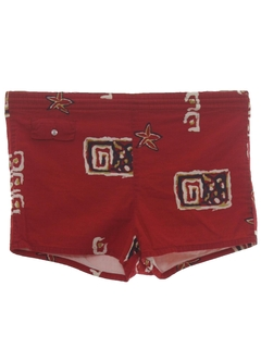 1950's Mens Mod Swim Shorts