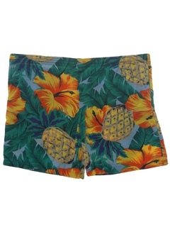 1990's Mens Wicked 90s Hawaiian Shorts