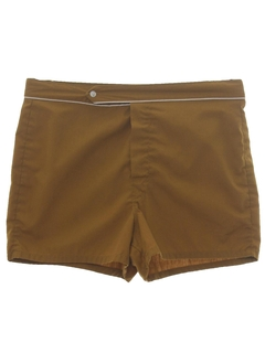 1960's Mens Mod Swim Shorts