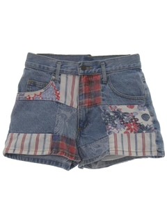 1980's Womens Denim Shorts