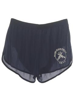 1980's Unisex Running Sport Shorts