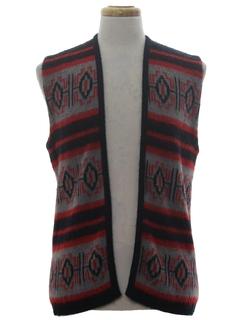 1970's Unisex Hippie Vest
