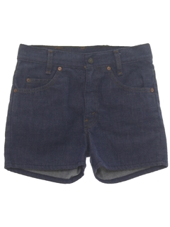 1970's Mens Denim Shorts