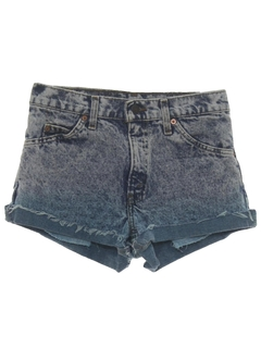 1980's Unisex Denim Shorts