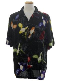 1980's Mens Bowling Sport Shirt